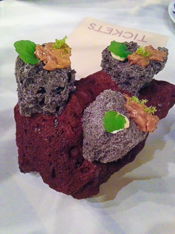 black sesame and white chocolate lava rock-1