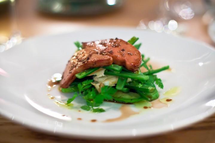 foie gras bannisters