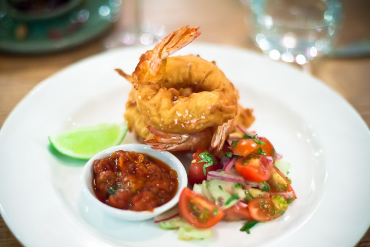 prawns bannisters